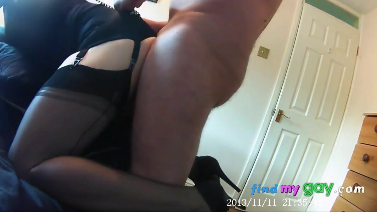 Ginger fucked in Gio FF nylons 7